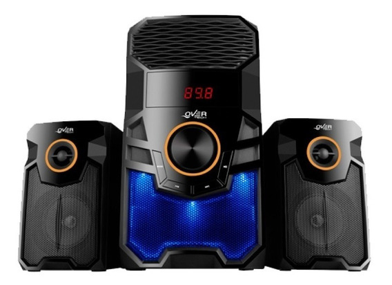 Parlante Overtech 2.1 Ov-165m Usb Radio Fm Bluetooth 90w 6c