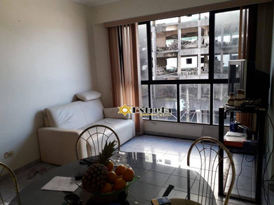 Apartamento Com 1 Dormitório À Venda, 60 M² Por R$ 220.000 - Boqueirão - Praia Grande/sp - Ap10319