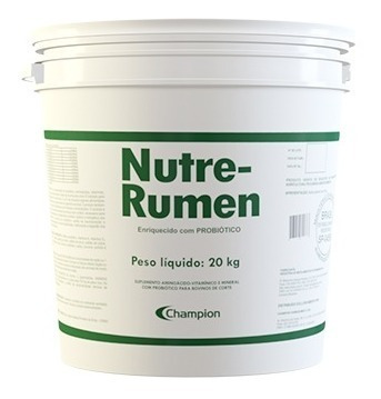 Imagem 1 de 5 de Nutre-rumen - Probiótico Para Bovinos