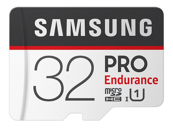 Samsung Micro Sd Classe 10 Sdhc Pro Endurance C10 Uhs-1 Cart