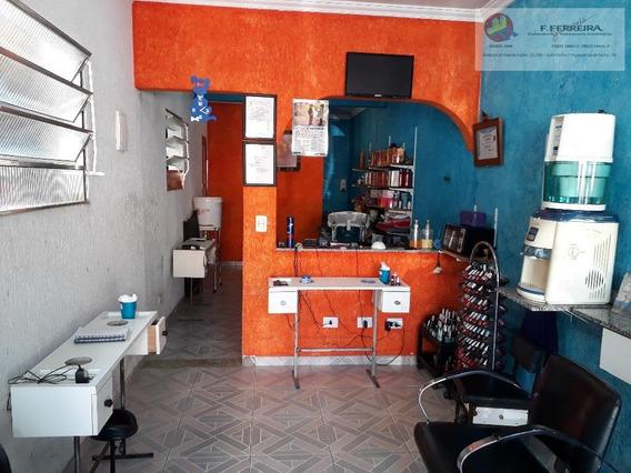 Salão Para Alugar, 30 M² Por R$ 750/mês - Jardim Branca Flor - Itapecerica Da Serra/sp - Sl0021