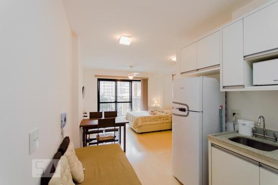 Apartamento Para Aluguel - Santa Cecília, 1 Quarto, 30 - 893073294