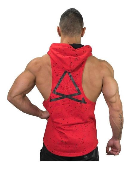 Fleck Abierta Espalda Tank Gym Crossfit Fitness Chaleco
