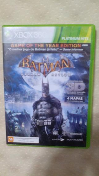 Xbox 360 - Batman Arkham Asylum. Bom Estado.