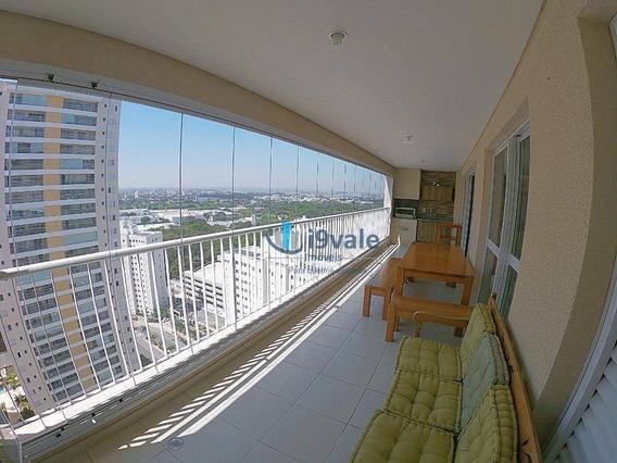 Lindo Apartamento Com 3 Suítes À Venda, 156 M² Por R$ 870.000 - Splendor Blue - São José Dos Campos/sp - Ap2103