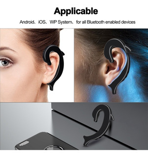 Auriculares Bluetooth, De Conduccion Osea.