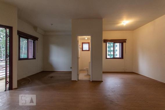 Studio No 10º Andar Com 1 Dormitório E 2 Garagens - Id: 892948690 - 248690