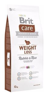 Brit Care Weight Loss Rabbit & Rice 12 Kilos Peso Neto.