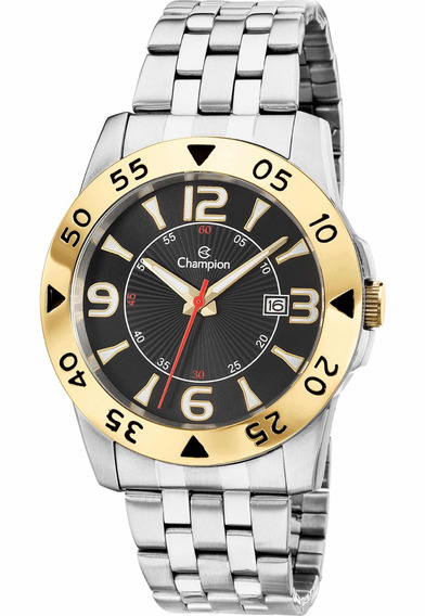 Relógio Champion Masculino Prateado Ca30230d