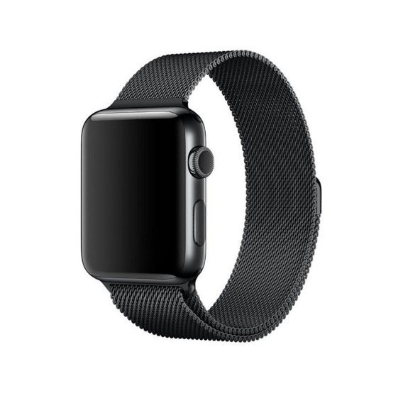 Correa Generica Metal Milanesa Para Apple Watch 38-40-42-44