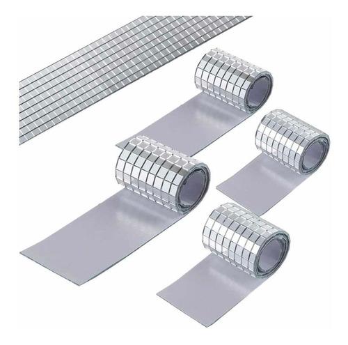 Espejos Para Mosaico  0.5 × 0.5 Cm 2360 Piezas Adhesivas
