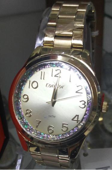 Relógio Condor Feminino Co2039bl/4d
