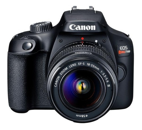 Canon Eos Rebel T100 Kit Wifi Ef-s 18-55 Digic 4+ 18mpx