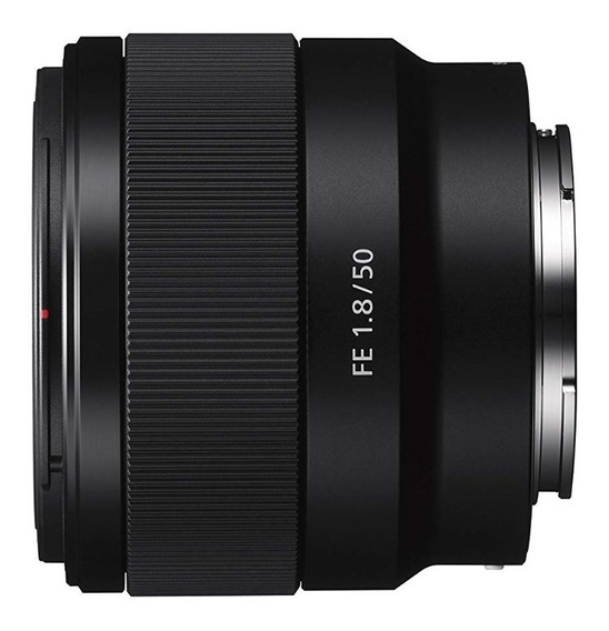 Lente Sony Fe 50mm F/1.8 E-mount Full Frame