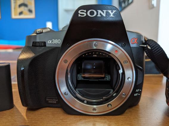 Câmera Sony Alpha A380 Dslr