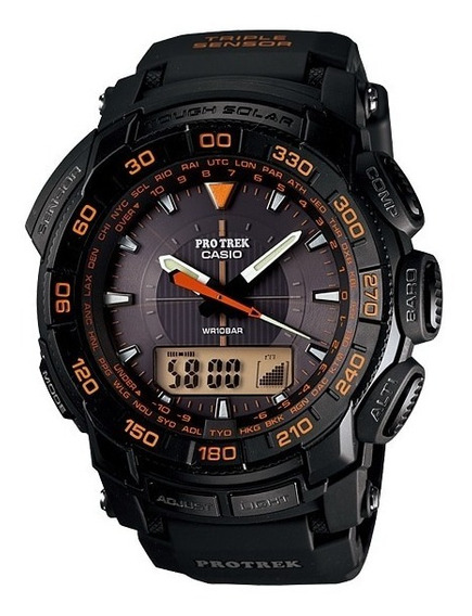 Relógio Casio Protrek Prg-550-1a4dr Laranja