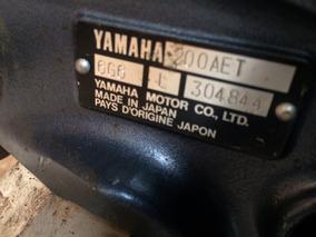 Motor Yamanha 200 Hp