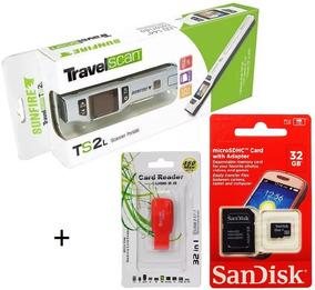 Scanner Portátil Sunfire Ts2l 1050 Dpi C/ Ocr + Cartão 32gb