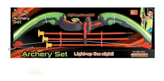 Arco Con Flechas Archery Set Con Luz