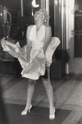 Marilyn Monroe - Escena En La Calle - Lámina 45x30 Cm.