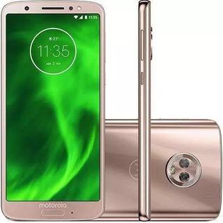 Smartphone Moto G6 Xt1925 Ouro Rosê 64gb Dual-novo (vitrine)