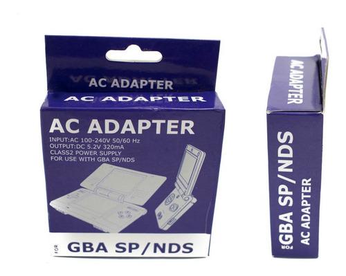 Cargador Ac Adaptador Game Boy Advance Sp Y Nintendo Ds