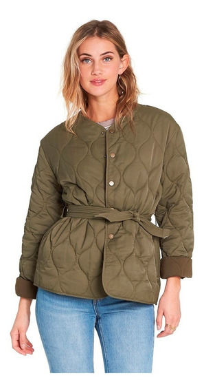 Campera Billabong Take Detours Olive Mujer J701sbta