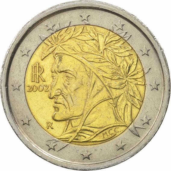 Italia 2002 Moneda 2 Euros Sin Circular
