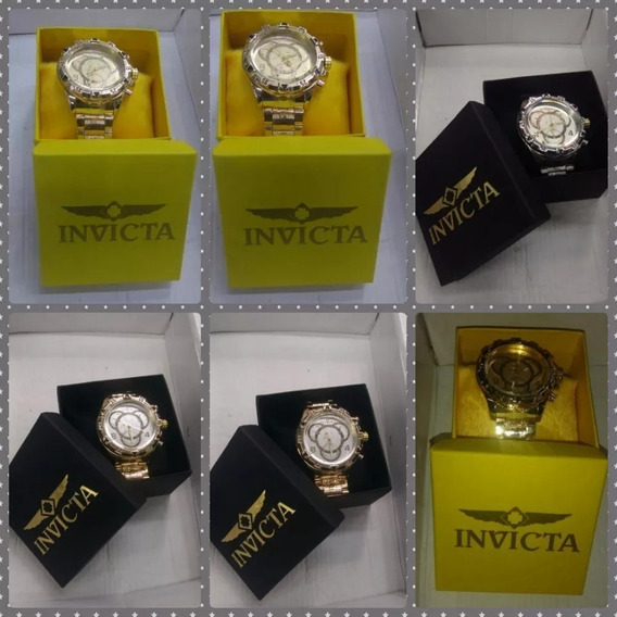 Exclusivo Lote C/6 Relógios Masculino Luxo + Caixa Atacado