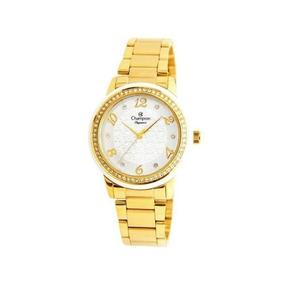 Relógio Champion Feminino Dourado Cn25994h