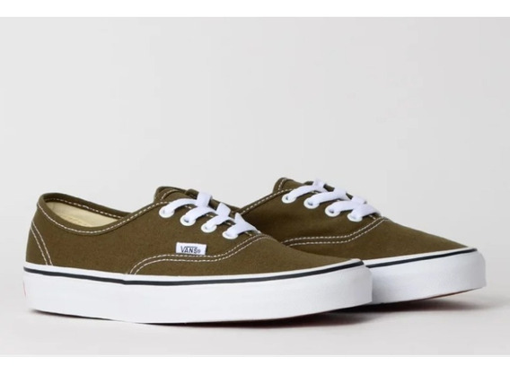 Tênis Vans Authentic Verde Beech True White Original Tam 42