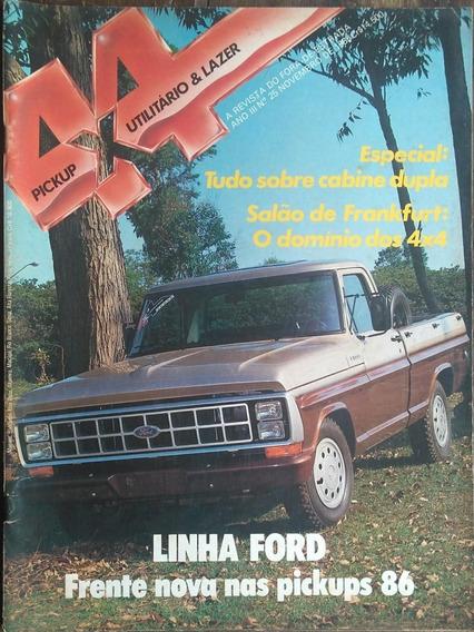 Revista 4x4 Nº25 Novembro 1985 Poster: Chevy 500