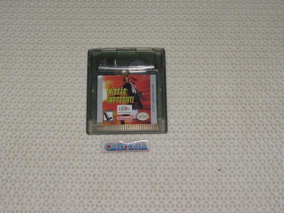 Missão Impossível Original Game Boy Color