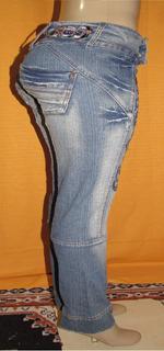 Calça Jeans Feminna Marca Kd Surf Tam.36 C/strech Ra