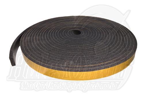 Imagen 1 de 3 de Rollo Cinta Hule Esponja Auto Adhesiva Tesamol 3/4x1/4x10mts
