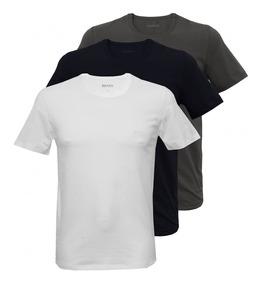 Kit Atacado 15 Camisas Masculina Várias Marcas Várias Cores