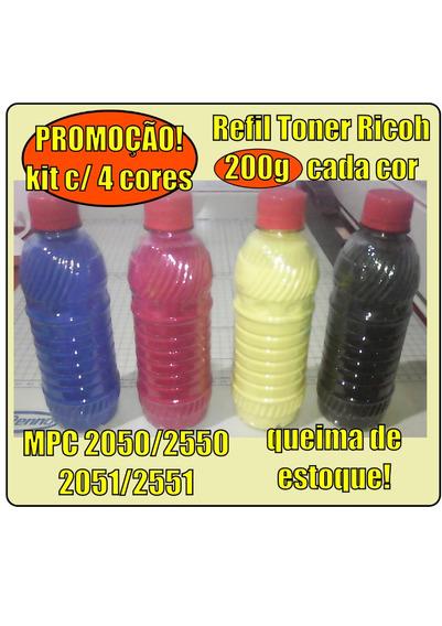 Refil De Toner Ricoh Mpc2050/2550/2051/2551