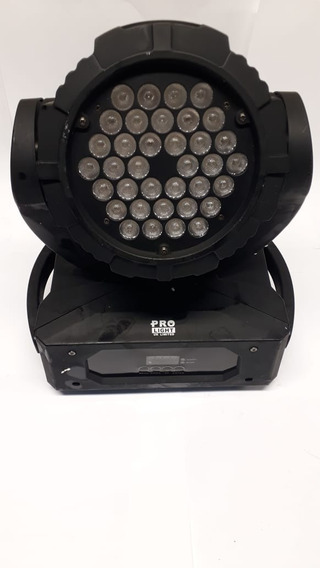 Moving Head Wash 36 Leds 3w Rgb Cod622