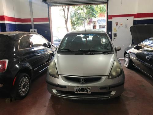 Honda Fit 1.4 Lx 2005 Aa Lv Llantas Muy Bueno Al Dia Tit Pt