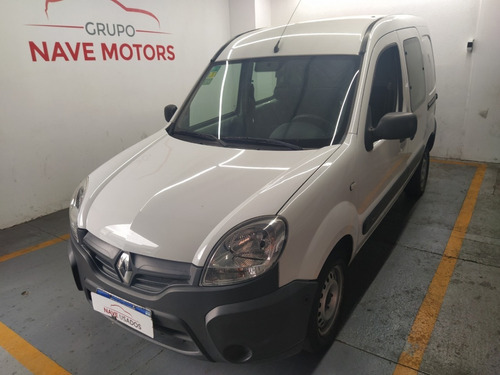 Renault Kangoo Confort 1.6 5as Aire 2016 Blanco Aa513