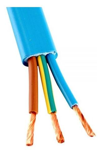 Imagen 1 de 5 de Cable Chato P/ Bomba Sumergible 3x1,5mm2. 30mts.
