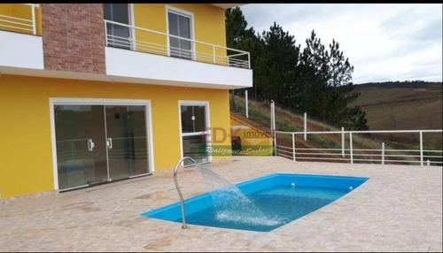 Imagem 1 de 12 de Chácara Com 3 Dormitórios À Venda, 1100 M² Por R$ 580.000,00 - Paraíso De Igaratá - Igaratá/sp - Ch0171