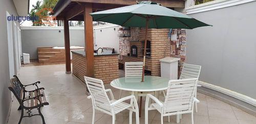 Imagem 1 de 30 de Casa Com 4 Dormitórios À Venda, 562 M² Por R$ 1.800.000,00 - Jardim Virginia - Guarujá/sp - Ca3935