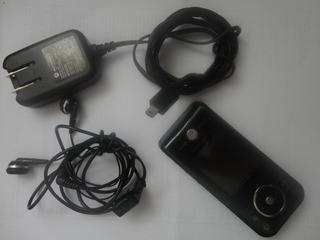 Celular Desbloqueado Motorola Zn 200 - Preto - Func.normal