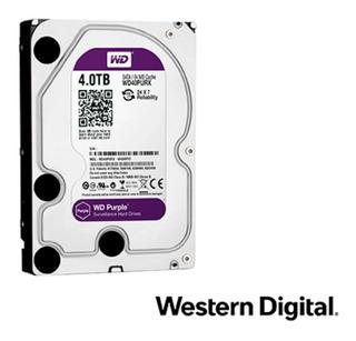 Dd Disco Duro 4 Tb Sata Wd Purple Wd40purx/z Videovigilancia
