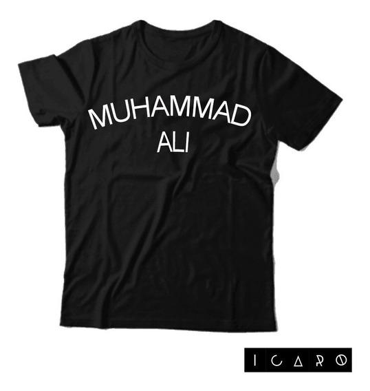 Remera Muhammad Ali 100 % Algodon Ícaro Palermo