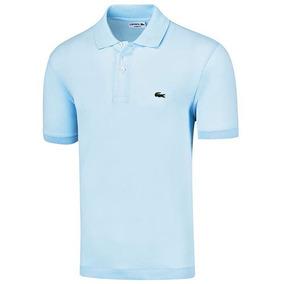 Playera Polo Formal Lacoste Hombre Logo Pol Azul Dtt 64786