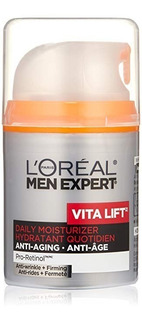 Crema Loreal Anti Arrugas Expert Vita Lift Para Hombre 1.60