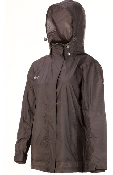 Campera Rompeviento Impermeable Nexxt Alluvial Mujer Liviana