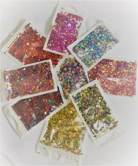 Confeti Metalizado Cumpleaños Baby Shower Papel Picado